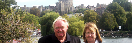 London Magical Tours guests at Windsor Castle