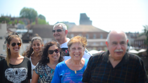 Familia Rosarina from Santa Fe, Argentina on our tours to Windsor and London (July 2013)