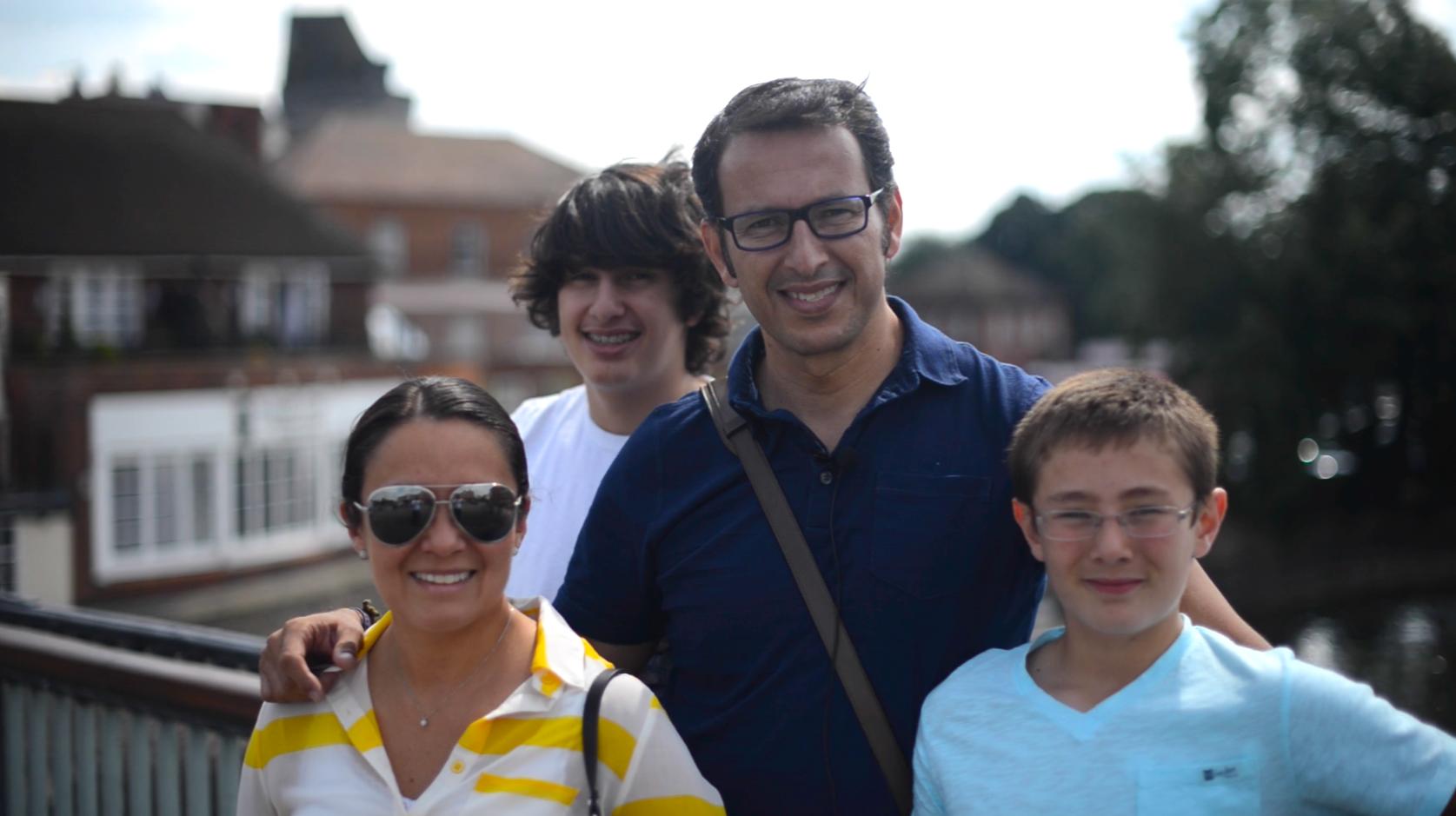 The Villalobos family, Mexico