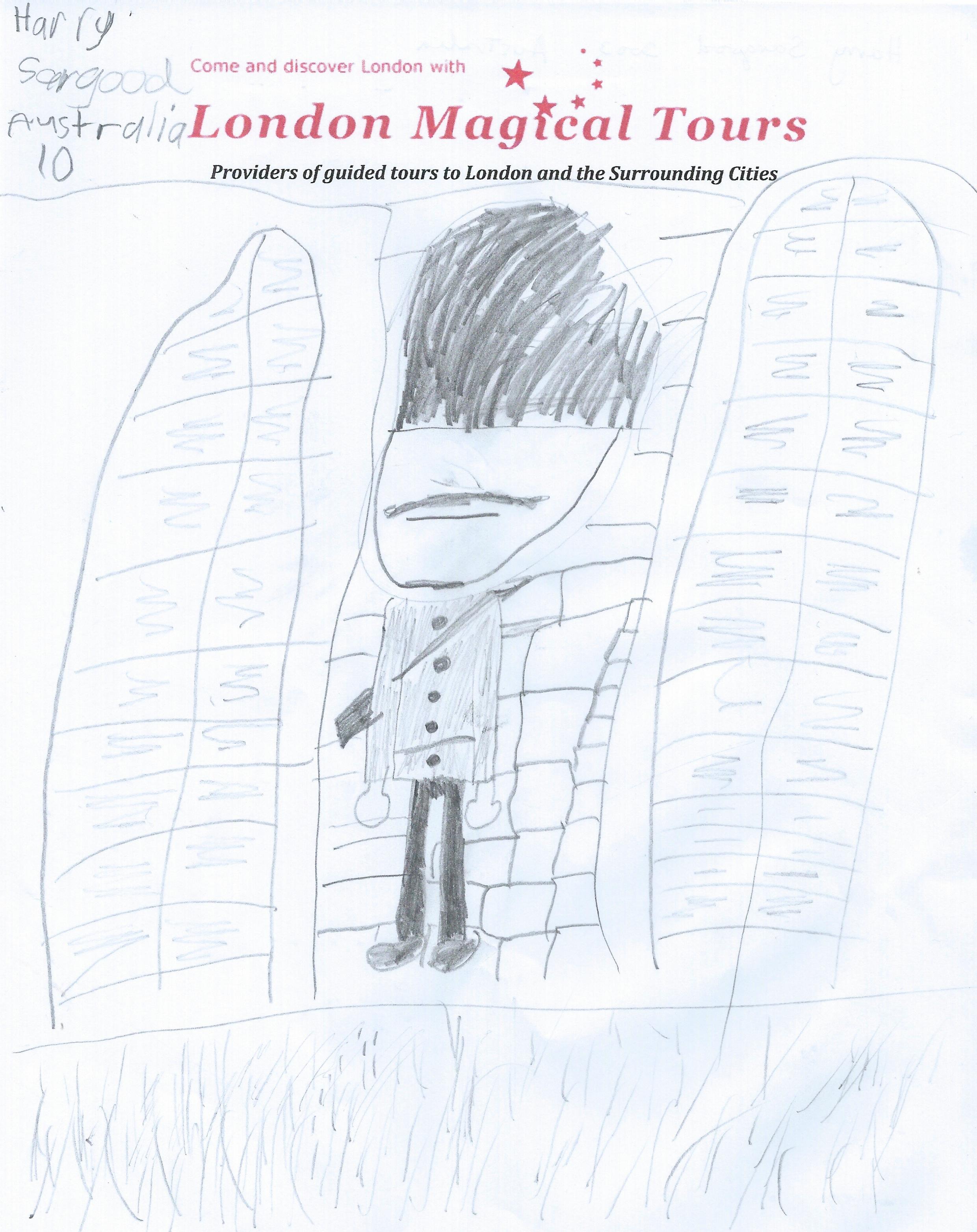 Harry Sargood Drawing