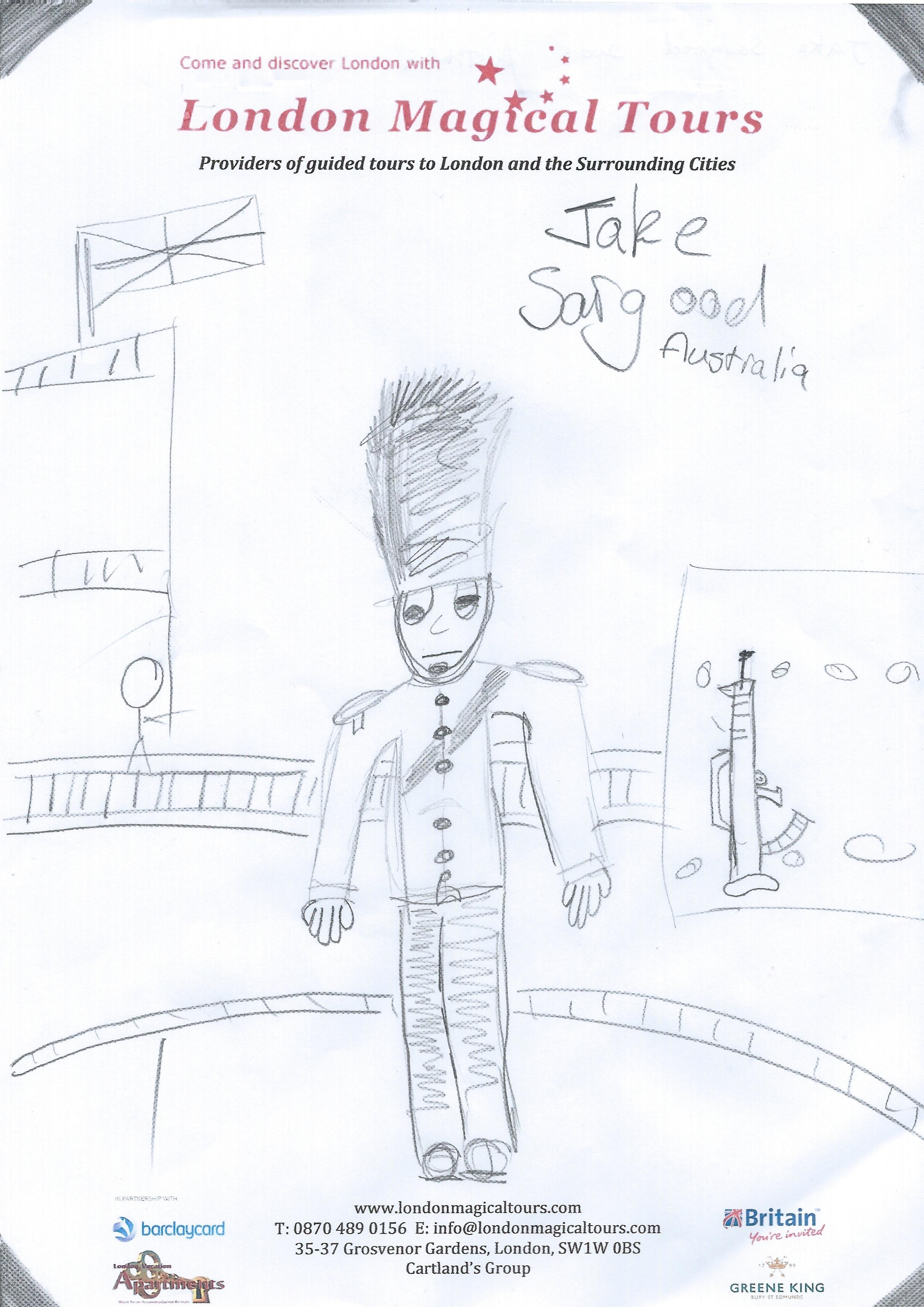 Jake Sargood Drawing