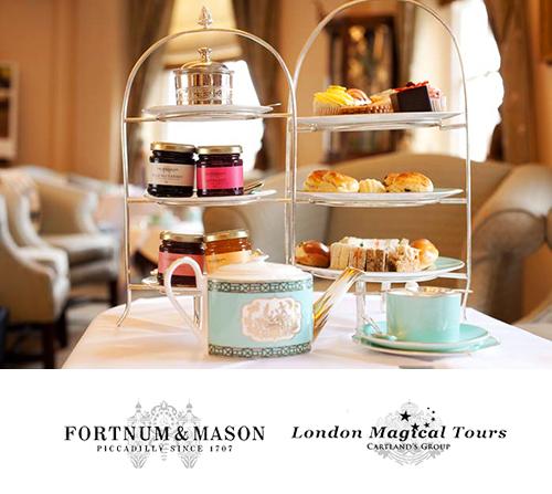 Traditional Afternoon High Tea At The Diamond Jubilee Tea Room