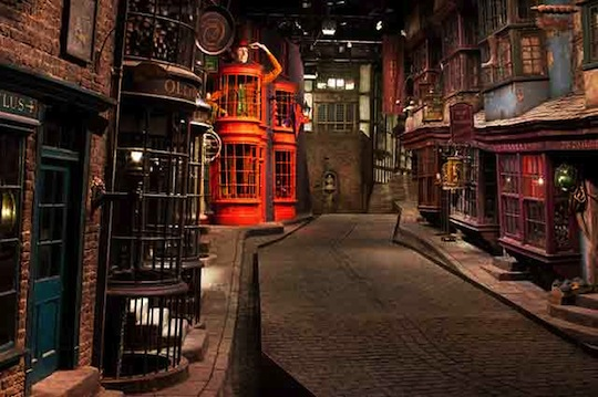 Harry Potter Film Studios Tour - Diagon Alley