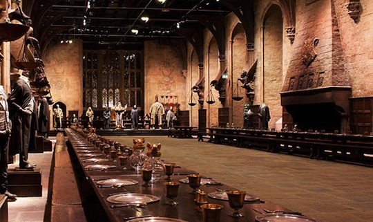 The Great Hall At Harry Potter Studios Tour