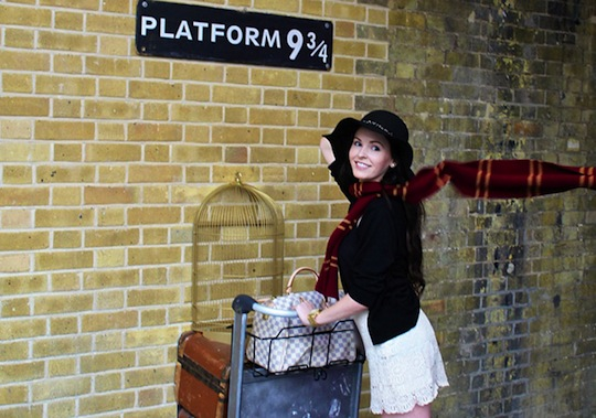 In Search Of The Hogwarts Express? Clients At Platform 9 3/4