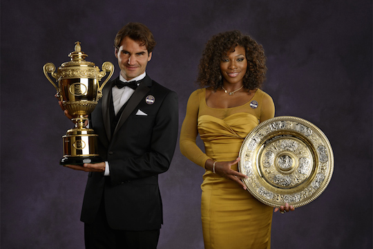We are the champions: familiar faces Roger Federer and Serena Williams