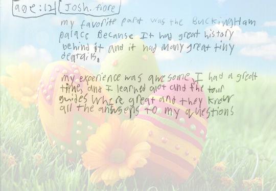 Josh, 12 years old