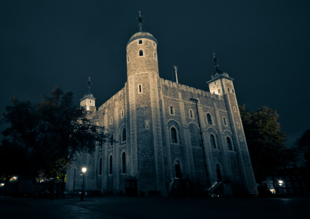 The Tower of London. Dark, sinister and one of London's most haunted venues. Perfect for a night of ghost stories!